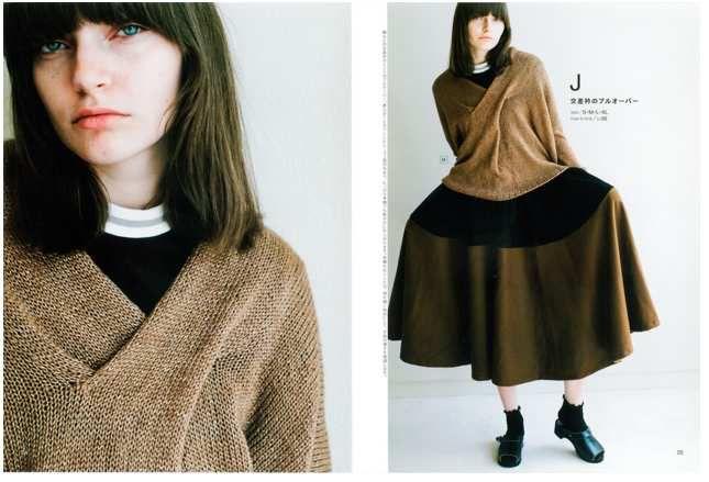 """Couverture du livre """"S M L XL Knits"""" de Michiyo + modèles"""