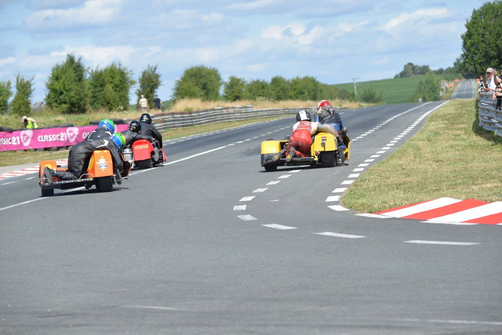 Courses side-cars G1,G2, Gp et post classic, post classic 2 et4 T, 500 G2