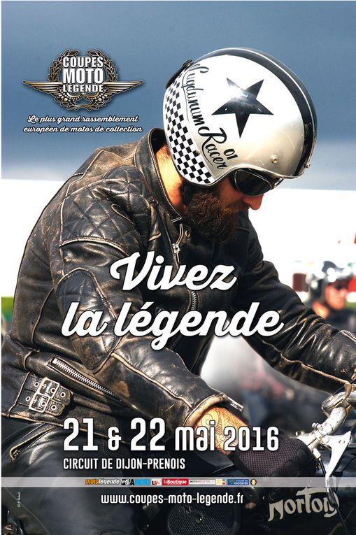 Coupes Moto Légende 2016 Dijon Prenois