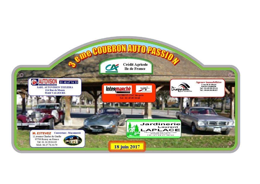 3eme Coubron Auto Passion 18 juin 2017