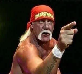 Hulk Hogan NWO with Hells Angels