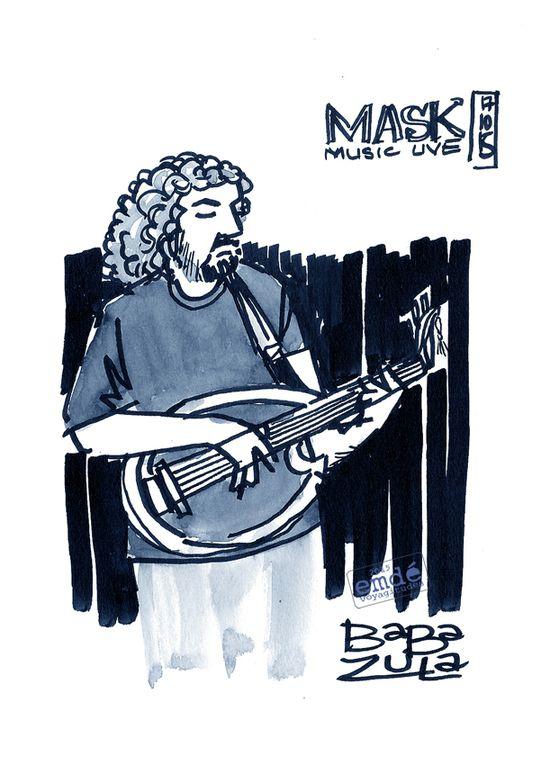 Baba Zula en concert // Mask Live Club _ Istanbul // 17/10/15