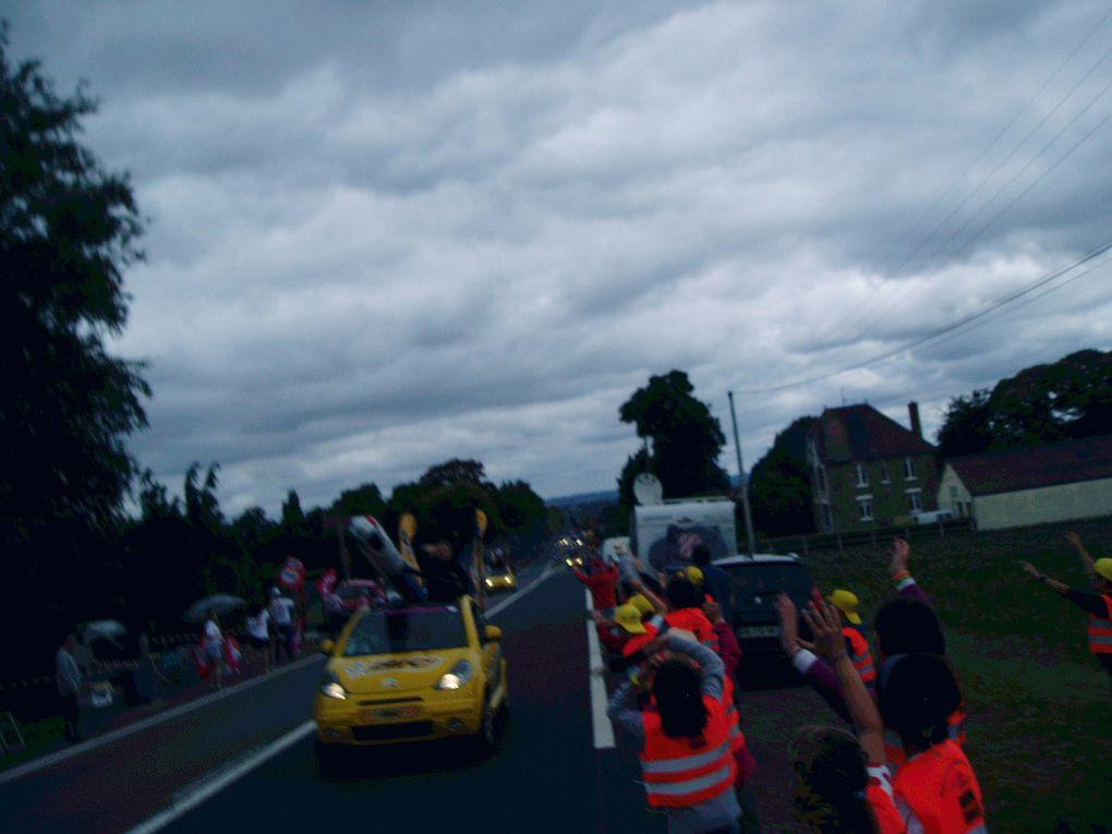 Troisième étape du Tour de France, nous y étions....