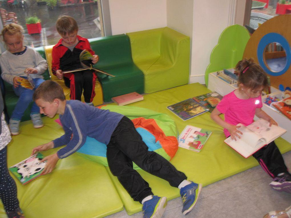 Moment de lecture-plaisir à la bibliothèque d'Avranches