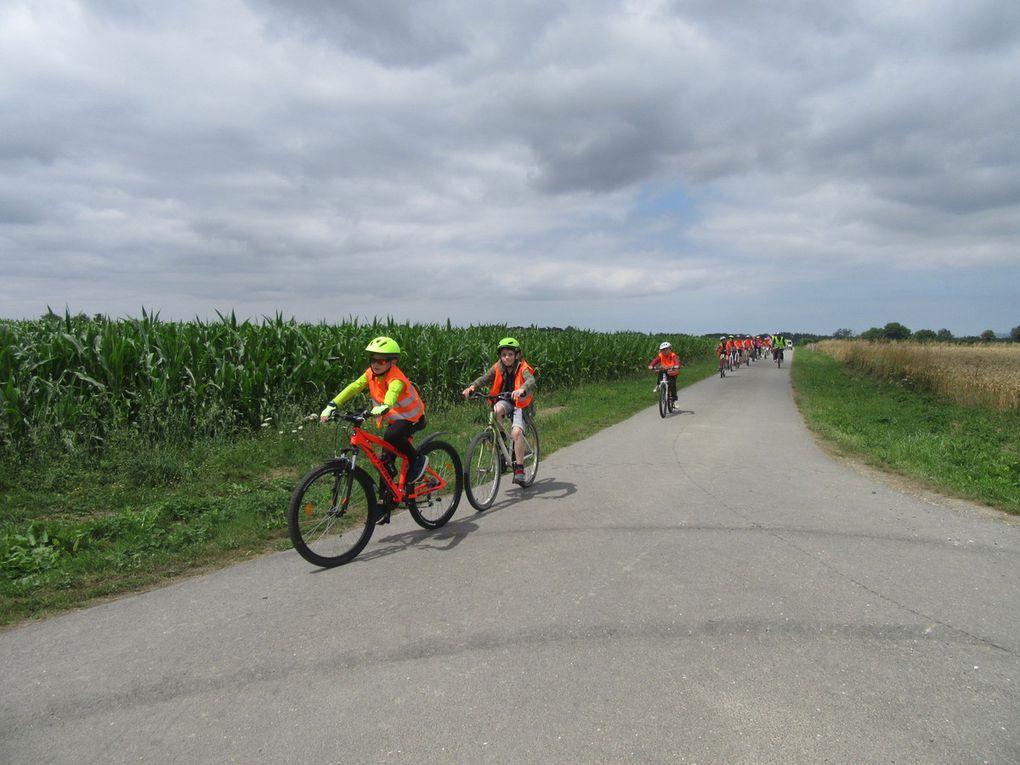 Sortie vélo pour les CM1 CM2