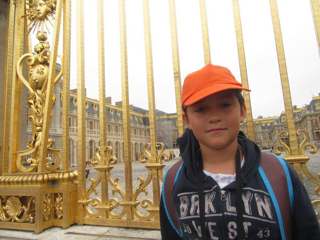 Les CM1 CM2 à Versailles