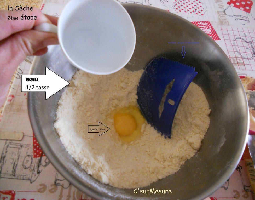 comment faire la recette !  en images.