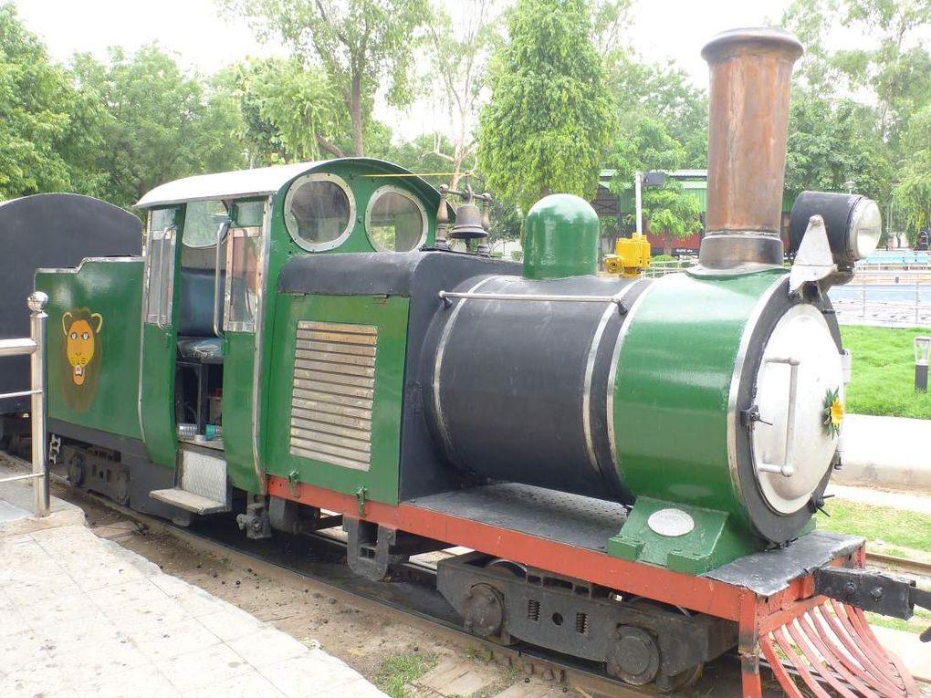 Au musée des chemins de fer de New Delhi