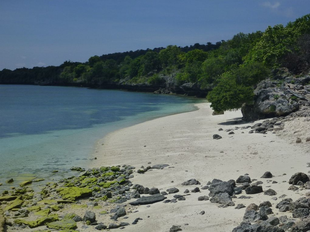 Les plages de Liti (Kisar)