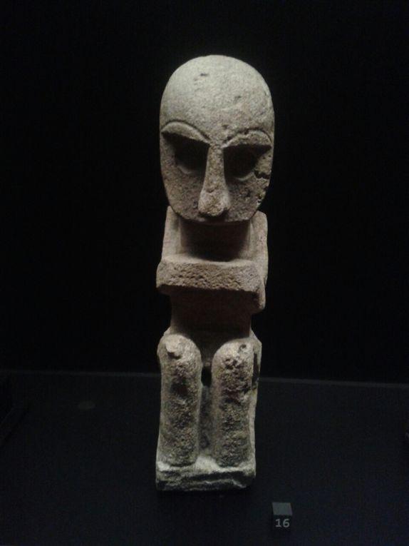Effigie protectrice (Yamdena, Tanimbar) et bouclier de guerre (Wetar) - Musée du Quai Branly, Paris