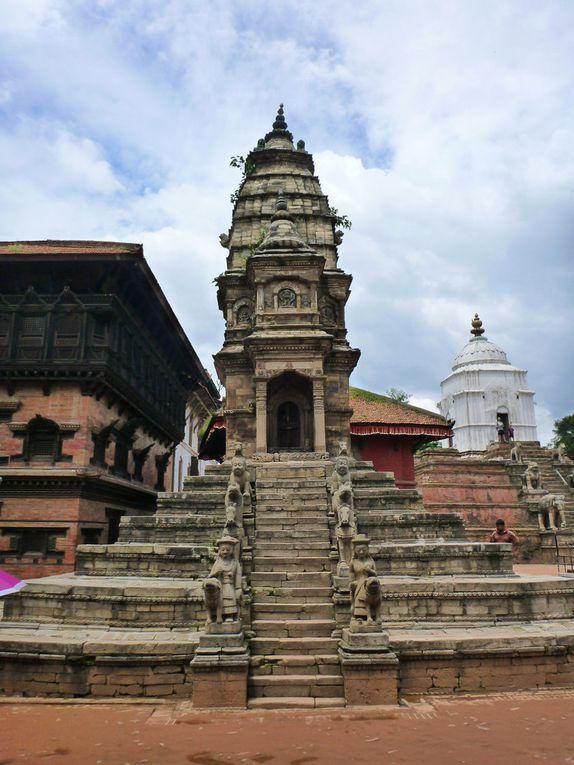 Bhaktapur : Durbar square, la place du palais royal