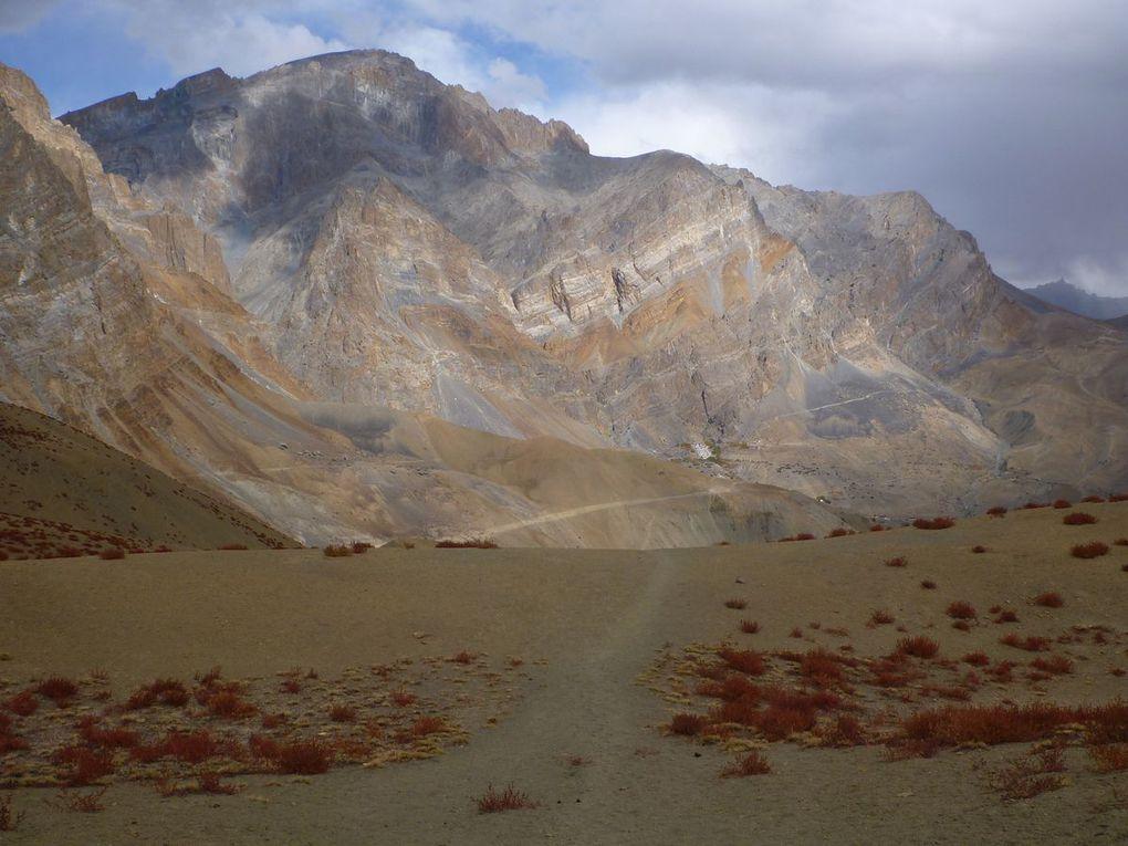 Les paysages de Padum à Lamayuru
