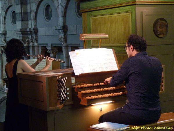 Flûte et Orgue à la cathédrale de Gap