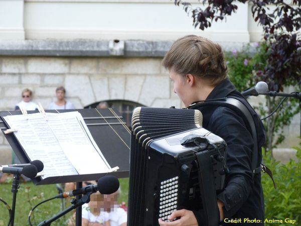 Élodie SOULARD revisite l'accordéon à Gap