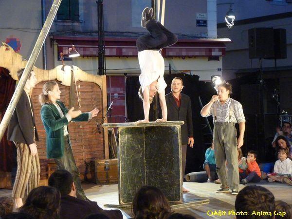 L'Effet Escargot…  fait son cirque à Gap