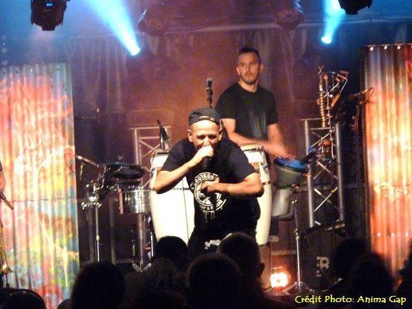 Sidi Wacho en concert à Gap