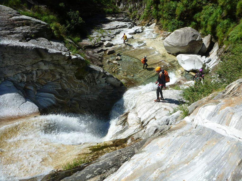 Canyons en Italie du 6 au 12 Août 2016