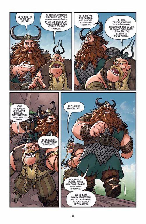 [BD] Dragons tome 5: La légende de Ragnarok