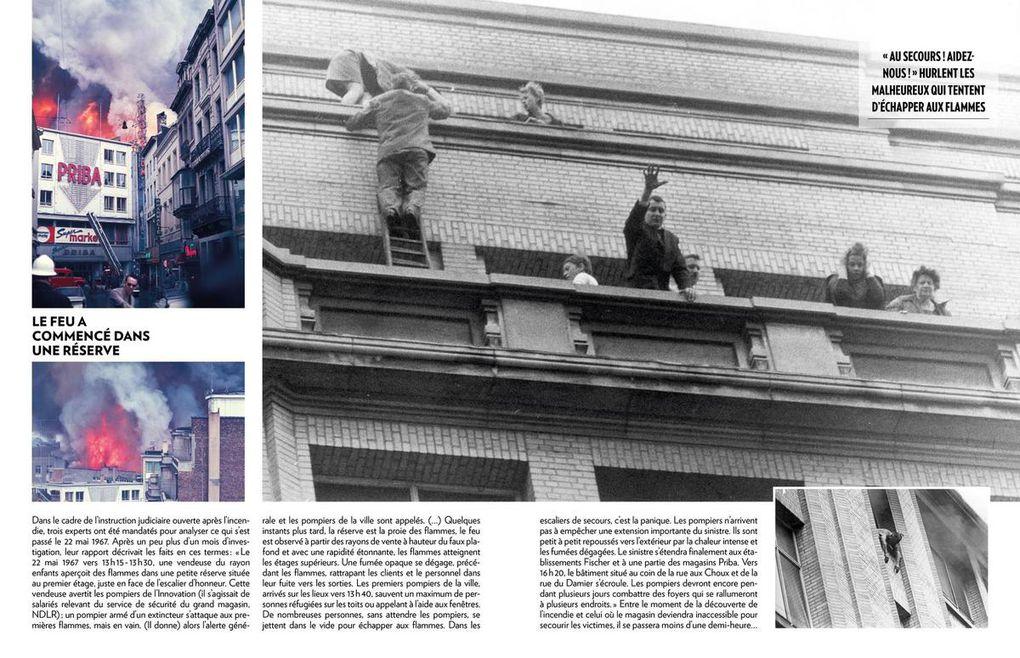 Il y a 50 ans, l'incendie de l'Innovation à Bruxelles (1)