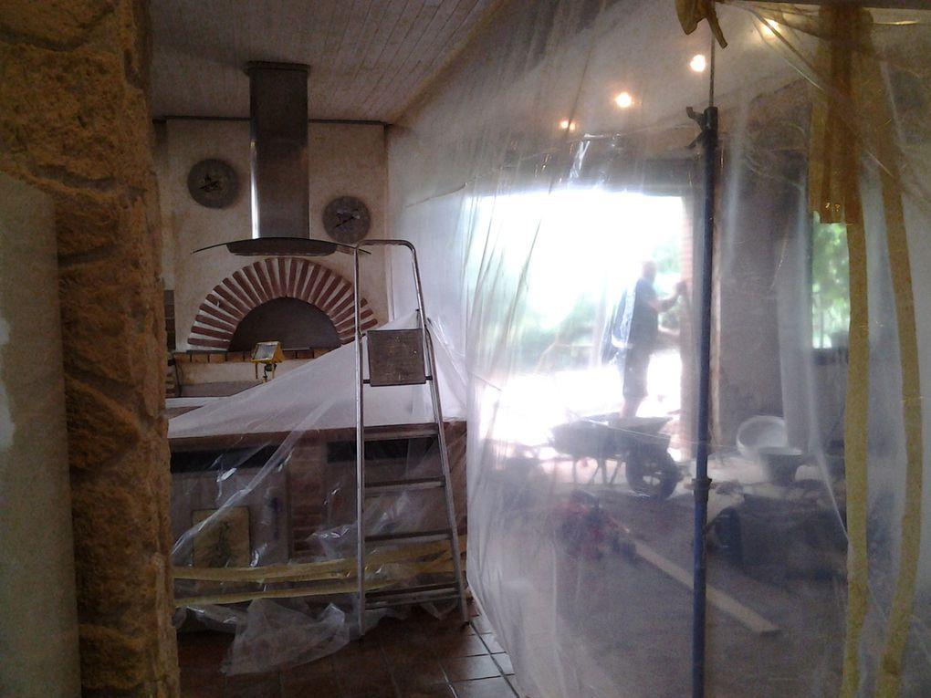 L'ouverture de la baie vitrée