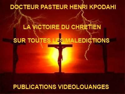 Liste des livres écrits par l'Apôtre Henri Kpodahi