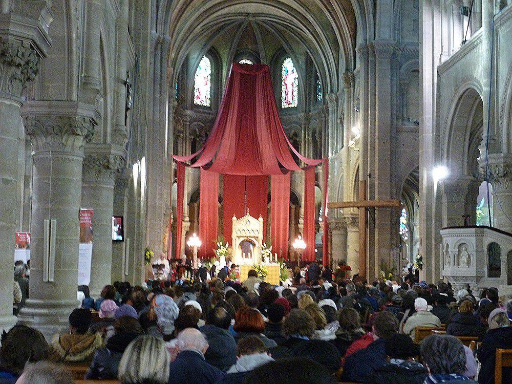 L'ostension de la sainte Tunique d'Argenteuil