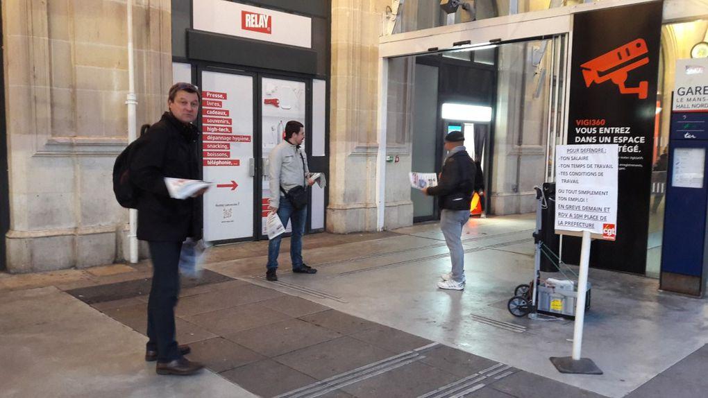 Communiqué de presse et photos de la distribution matinale du 20 Septembre 2017