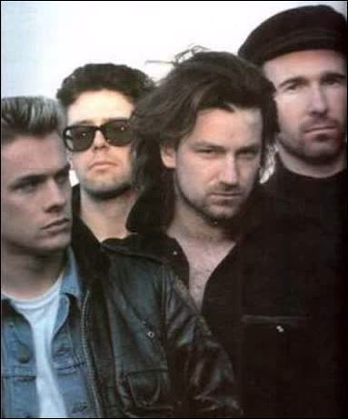 U2-The Unforgettable Fire -1985