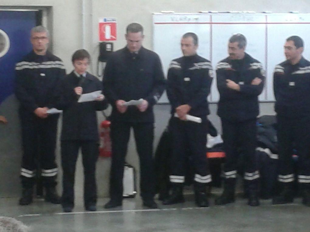 Inauguration chez les pompiers