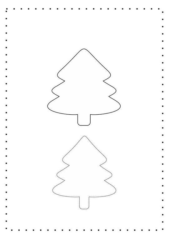 Sapin de Noël Kawaï en feutrine