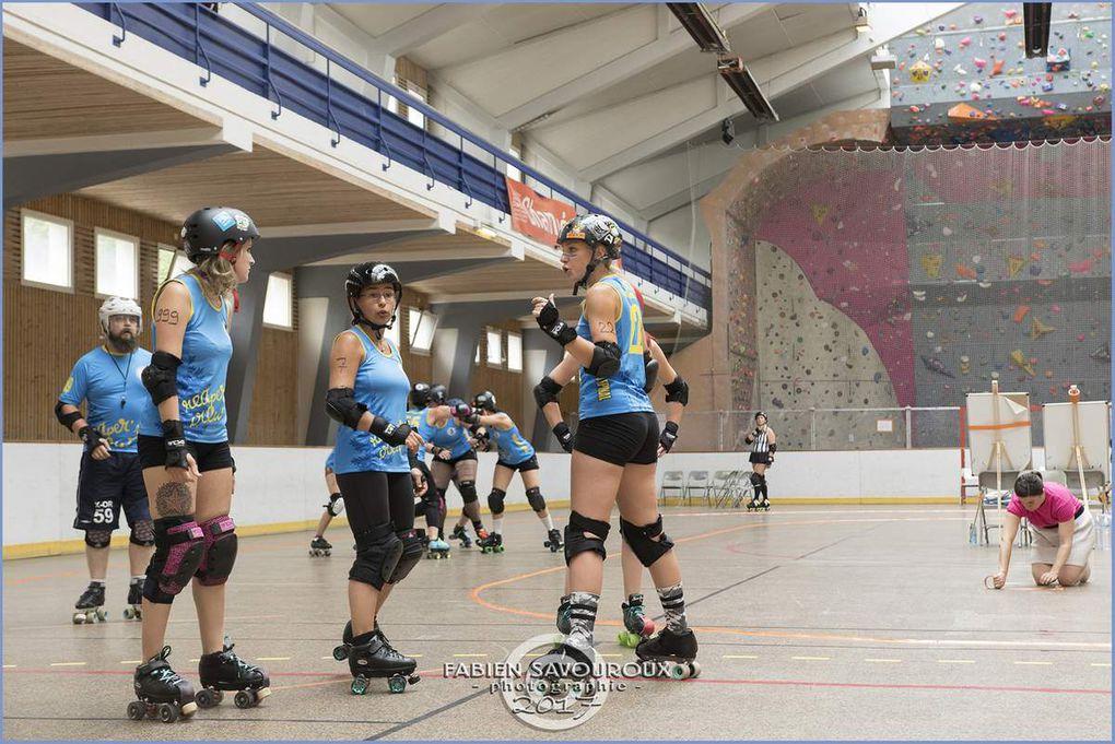 Nouveau tournoi de Roller Derby à Chambéry