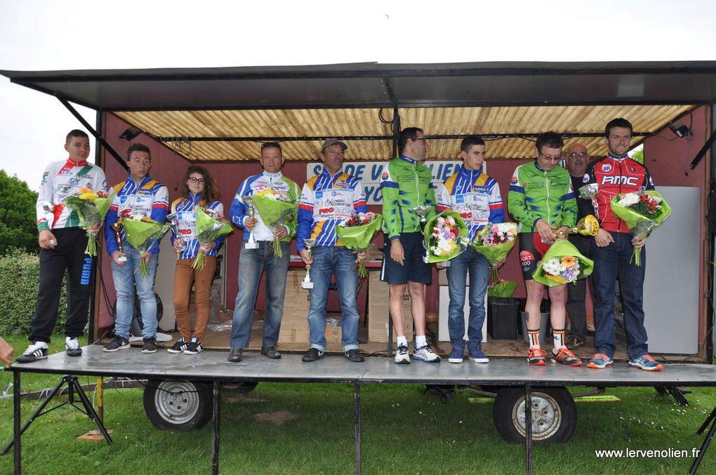 Course UFOLEP à Cintray le 23-05-2015