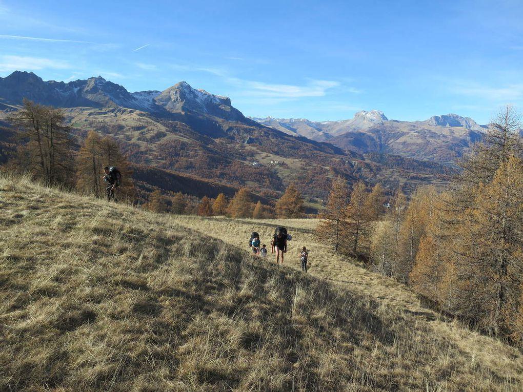 Thermiques d'automne à la Croix de l'Alpe