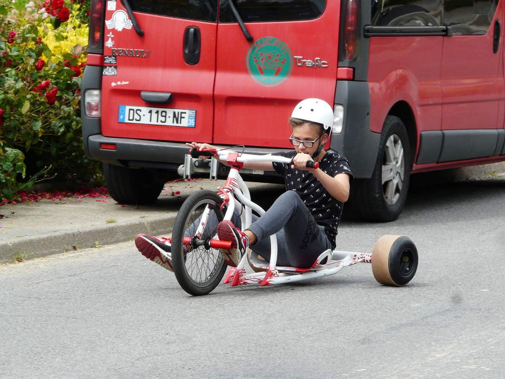 Le « drift-trike » (tricycle extrême)
