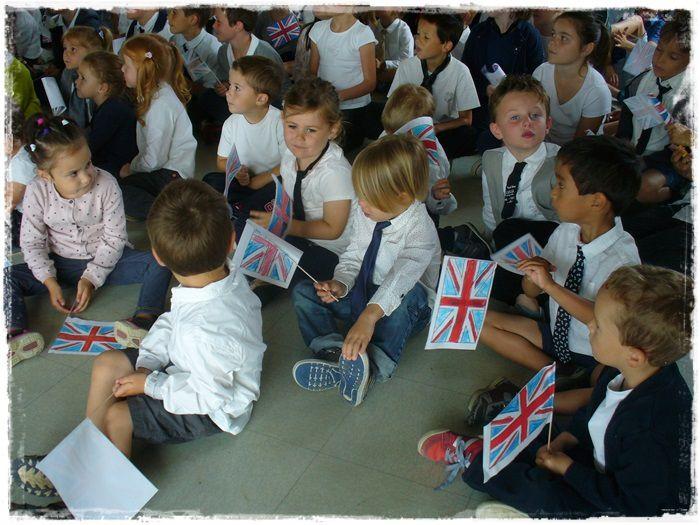 Journée anglaise à l'école Jeanne D'arc