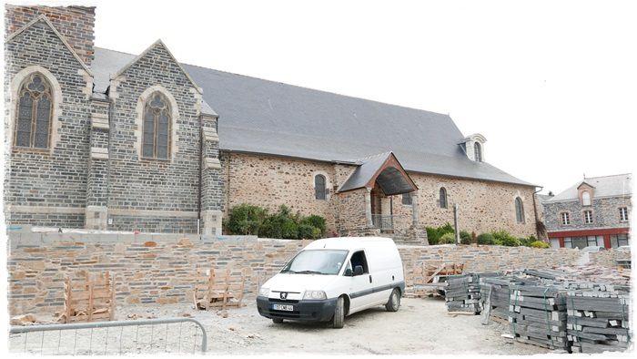 Place Saint Abdon: l' avancée des Travaux