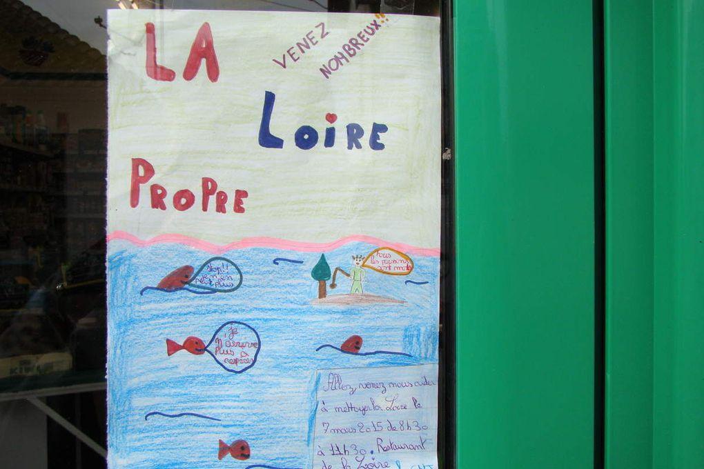 &quot&#x3B;J'aime la Loire propre&quot&#x3B; : les affiches des enfants