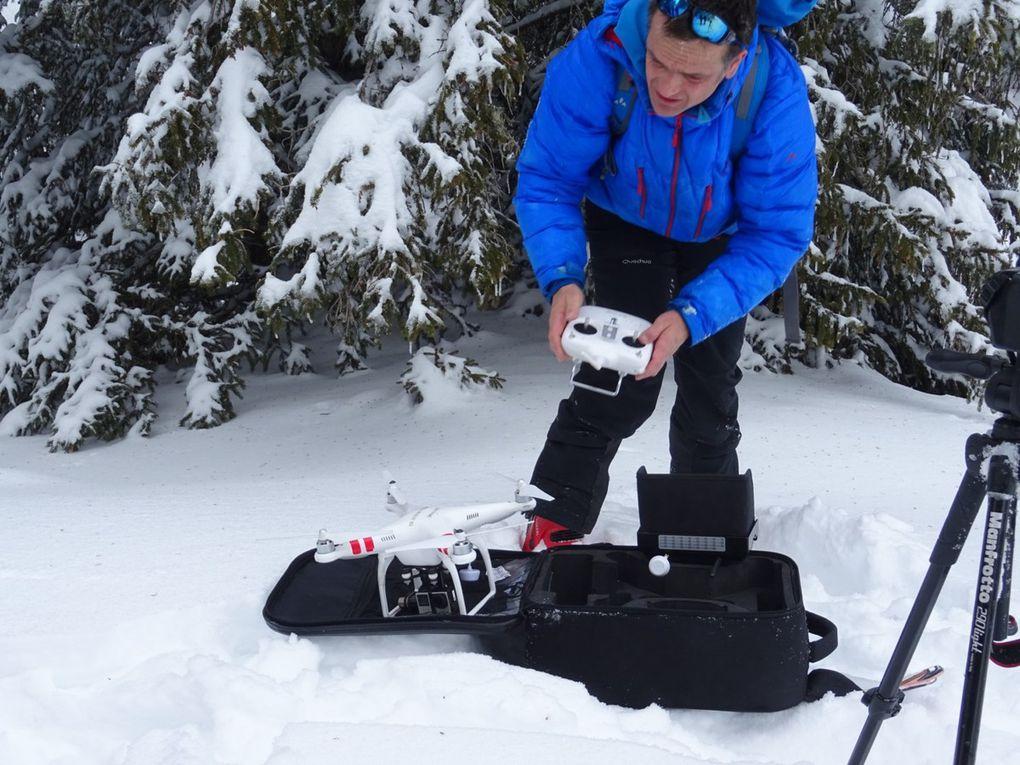 Savoie : des marcheurs, des chiens et un drone...