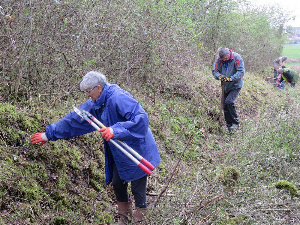 Réhabilitation d'un chemin rural à St-Romain-le-Puy
