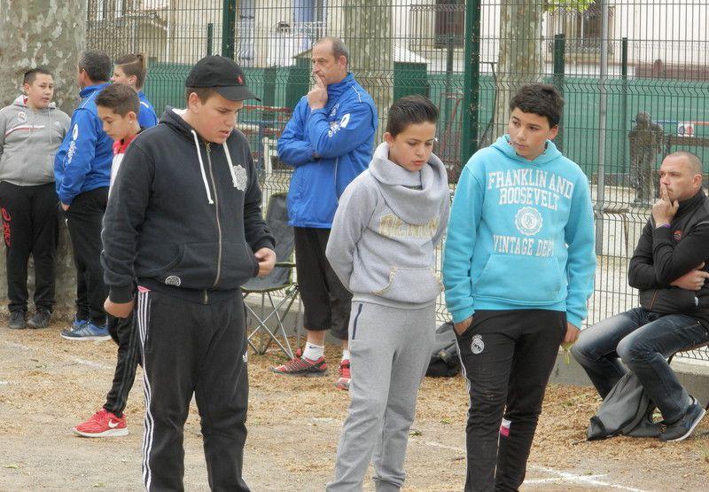 MARSEILLAN a réussi son Concours Jeunes, malgré les caprices de EOLE !