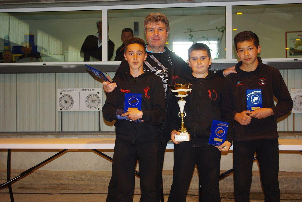 Championnats Triplettes Jeunes du Tarn et Garonne