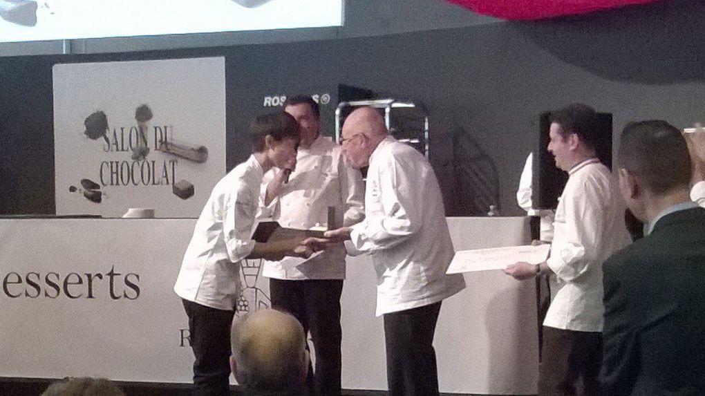 Remise des Prix - Relais Dessert Charles Proust - Salon du Chocolat, Paris