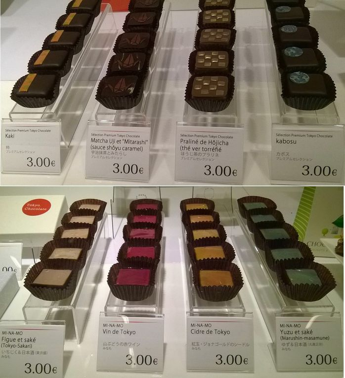 Chocolats japonais - Salon du Chocolat, Paris