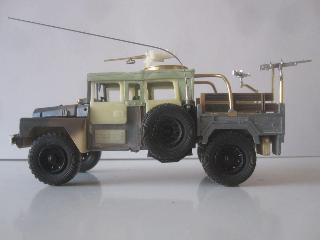 MODIF - ACMAT TPK 4.20 double cabine « commando » de l'armée irlandaise (par jérôme HADACEK)