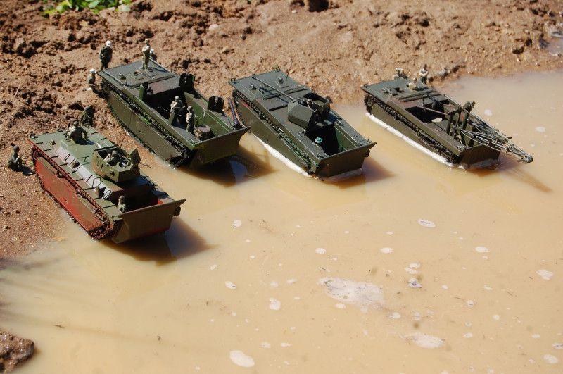 La flottille de Delta ou quand l'Alligator sort du nid (par Yves P.)
