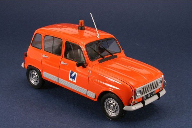 maquettes gendarmerie renault 4l au 1 24 et bmx r60 5 au. Black Bedroom Furniture Sets. Home Design Ideas