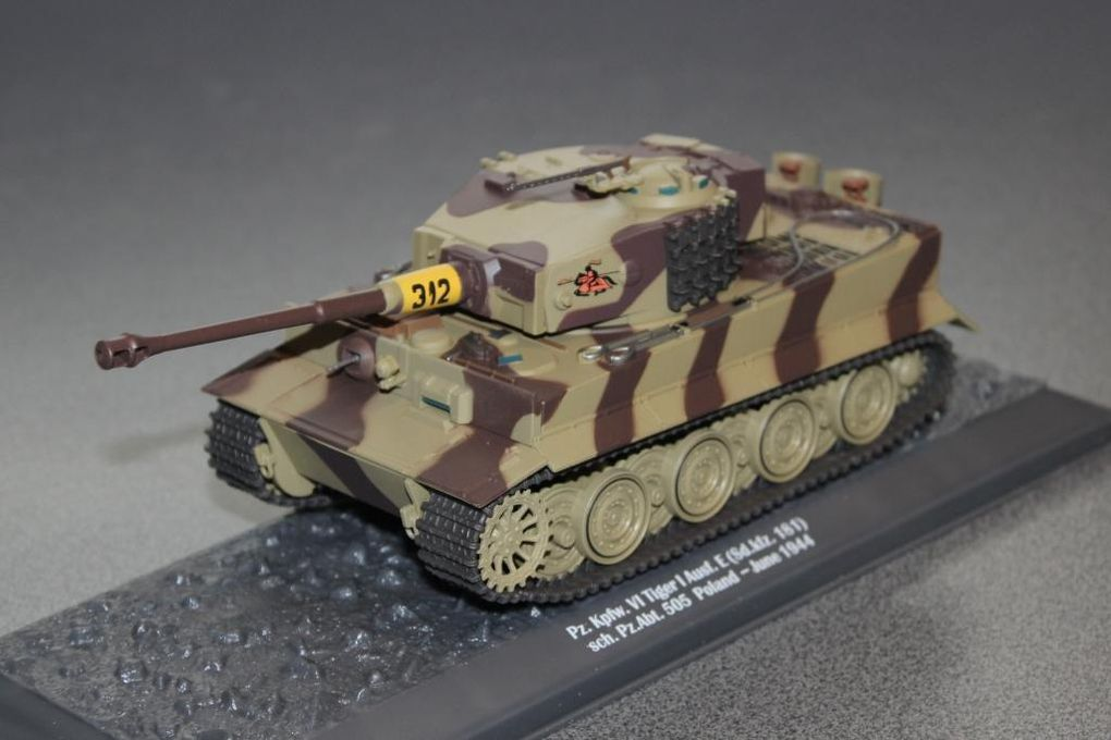 Collection-presse : chars de combat au 1/43 (Altaya)