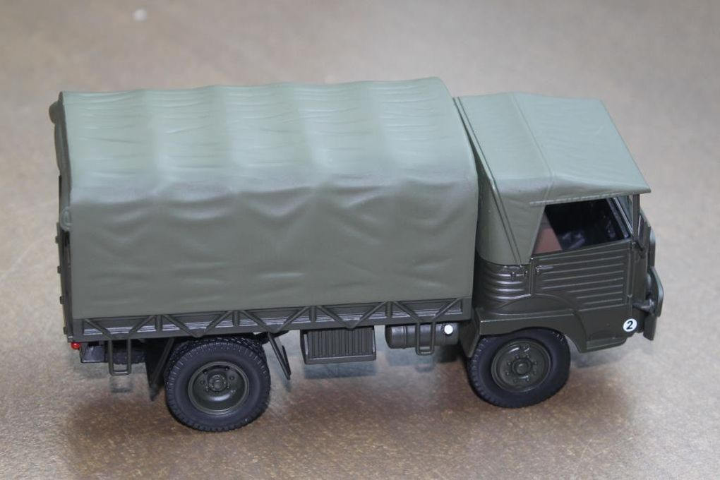Simca Cargo au 1/43 (Dorekt Collections) - Diaporama 1 - Photos CHL/Milinfo