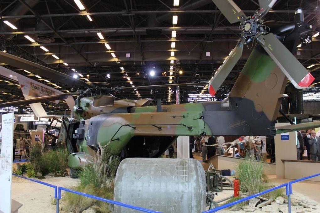 Eurosatory 2016 : l'espace du Ministère de la défense