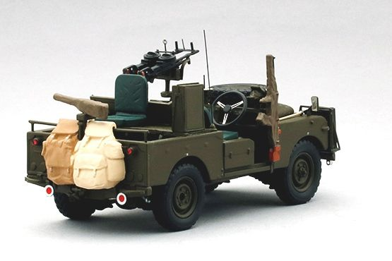 Land Rover SERIES IIA 109 &quot&#x3B;SAS Patrol Vehicle&quot&#x3B; au 1/43 (TSM Model)